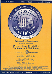 1999 process plant reliability ad